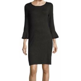 Calvin Klein カルバンクライン ファッション ドレス Calvin Klein NEW Gray Womens Size Medium M Bell-Sleeve Sweater Dress