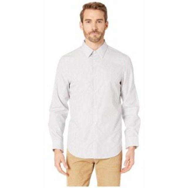 Calvin Klein カルバンクライン 服 一般 Long Sleeve French Placket Dobby Stripe Shirt