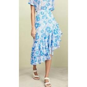 All Things Mochi レディーススカート All Things Mochi Ebony Skirt Blue Flo