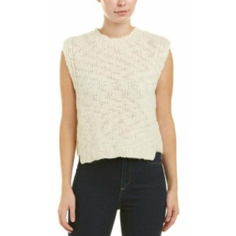 Derek Lam デレクラム ファッション 衣類 Derek Lam 10 Crosby Cropped Wool Vest M White