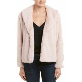 ファッション フォーマル Lavender Brown Shawl Collar Coat M Pink