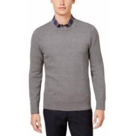 Ryan  ファッション トップス Ryan Seacrest Distinction NEW Gray Mens Size XL Crewneck Sweater