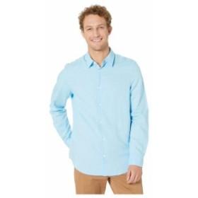 Calvin Klein カルバンクライン 服 一般 Long Sleeve Cotton Linen Button Down Shirt