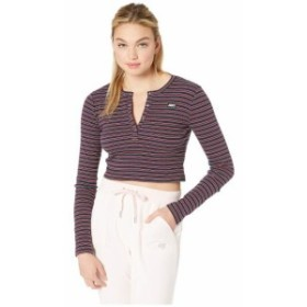 Juicy Couture ジューシークチュール 服 一般 Stripe Rib Logo Top