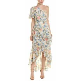 ファッション ドレス Harper One-Shoulder Midi Dress