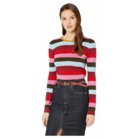 Blank NYC ブランクニューヨーク 服 スウェット Stripe Sweater in Holiday Party
