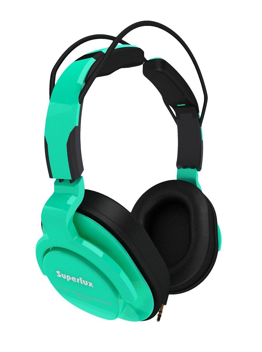 Superlux 舒伯樂 HD661 (綠色).新款全罩式專業監聽級耳機,原廠代理商公司貨,附保卡,保固一年