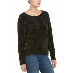 ファッション トップス Jella C Chenille Lace-Up Sweater