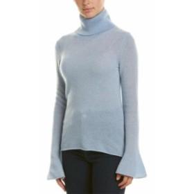 ファッション トップス White + Warren Turtleneck Cashmere Sweater L