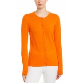 ESCADA エスカーダ ファッション 衣類 Escada Wool & Cashmere-Blend Cardigan Xs Orange
