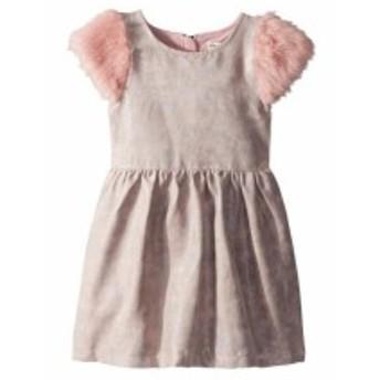Appaman Kids アパマンキッズ ドレス 一般 Shimmer Faux Leather and Fur Fleur Dress (Toddler/Little Kids/Big Kids)