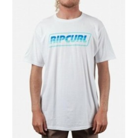 Rip Curl リップ カール ファッション トップス Rip Curl Mens T-Shirt White Size XL Full Throttle Logo Graphic Crew Tee #169