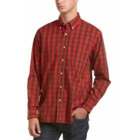 Red  ファッション ドレス J.Mclaughlin Carnegie Woven Shirt M Red