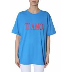 Alberta Ferretti レディースその他 Alberta Ferretti Oversized T-shirt AZZURRO
