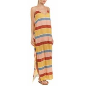 Vix ヴィックス ファッション ドレス Vix Milos Long Dress Xs Yellow