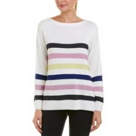 ファッション 衣類 St. John Sweater Xp White