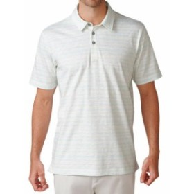 Ashworth アシュワース スポーツ用品 ゴルフ Ashworth Printed Slub Stripe Golf Shirt S