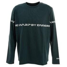 【Super Sports XEBIO & mall店:トップス】Lined ロゴ長袖Tシャツ WB32JB12 DGRN