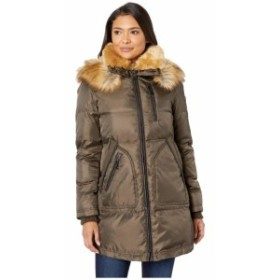 Vince Camuto ヴィンスカムート 服 一般 Heavy Weight Down with Sherpa and Faux Fur Detail R1241