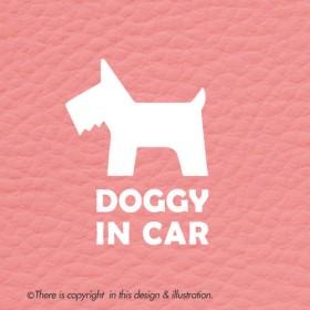 ドッグインカー002 dog in car ★ いぬ 犬 ステッカー