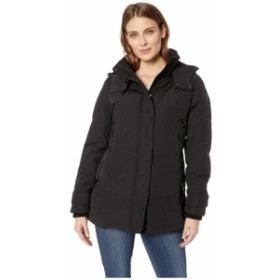 Vince Camuto ヴィンスカムート 服 一般 Short Down with Removable Hood and Knit Collar R1811