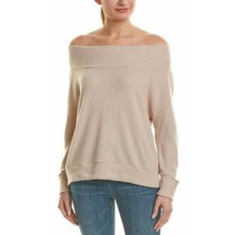 LNA エルエヌエー ファッション トップス Lna Waffle-Knit Sweater M Brown