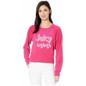 Juicy Couture ジューシークチュール 服 一般 Juicy A Gogo Microterry Logo Pullover