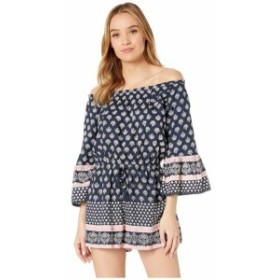 Angie アンジー 服 一般 Off the Shoulder Printed Romper