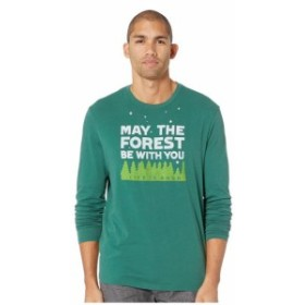 Life is Good ライフイズグッド 服 一般 Forest Be With You Smooth Long Sleeve T-Shirt