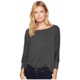 Michael Stars マイケルスターズ 服 一般 Elevated French Terry Wide Neck Pullover