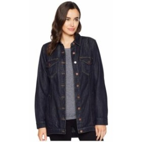 Liverpool リバプール 服 一般 High-Low Shirt Jacket in Classic Soft Rigid Denim