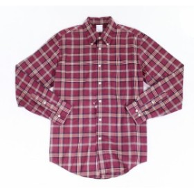 brooks ブルックス ファッション アウター Brooks Brothers NEW Red Mens Size Large L Plaid Button Down Shirt