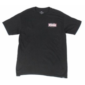 ONeill オニール ファッション トップス ONeill Mens Tee Shirt Black Red Size XL Modern Fit Logo Graphic Print #020