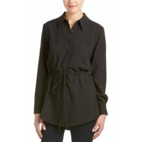 ファッション ドレス Donna Degnan Drawstring Tunic 2 Black
