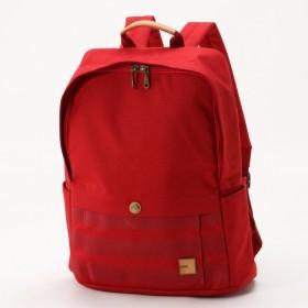 バッグ カバン 鞄 レディース リュック 軽量スクエアリュックサック カラー 「レッド」