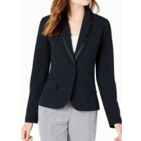 Blazer ブレザー ファッション フォーマル XOXO Suit Blazer Navy Blue Size Medium M Junior Career Notched collar