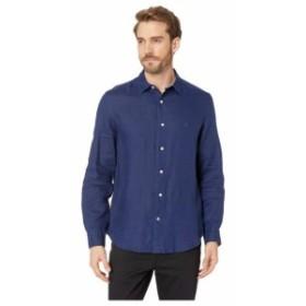 Nautica ノーティカ 服 一般 Long Sleeve Faded Linen Shirt