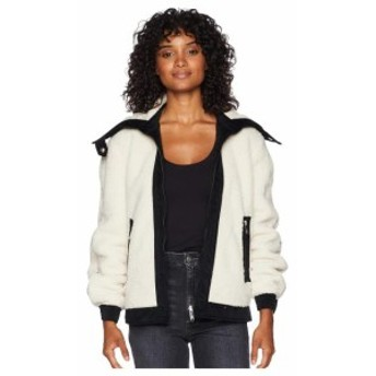 Sam Edelman サムエデルマン 服 一般 Short Berber Jacket w/ Contrast Fabric Detail Metallic Lined Anorak