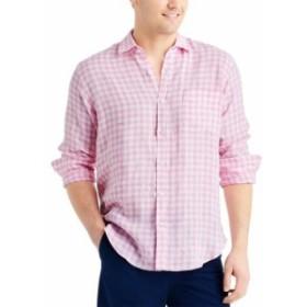 ファッション ドレス J.Mclaughlin Gramercy Gingham Linen Woven Shirt