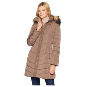 Ivanka Trump イヴァンカ トランプ 服 一般 Puffer Jacket with Detachable Fur Hood and Cinched Sleeve Detail