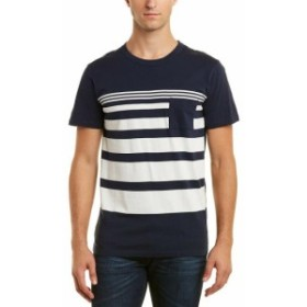 Chaser チェイサー ファッション トップス Chaser Stripped T-Shirt Xl Blue