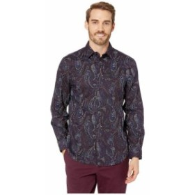 Perry Ellis ペリーエリス 服 一般 Regular Fit Stretch Paisley Print Shirt