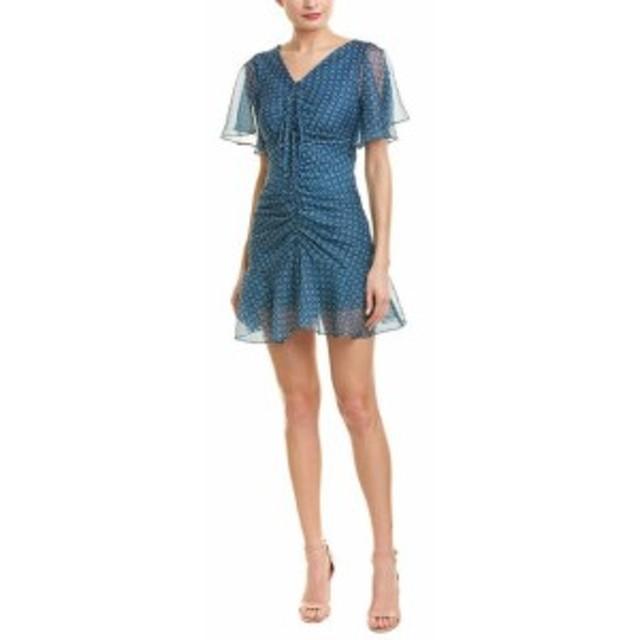 ファッション ドレス Avantlook Ruched Mini Dress