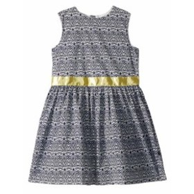 Toobydoo トゥービードゥー ドレス 一般 Navy and Yellow Garden Party Dress (Toddler/Little Kids/Big Kids)