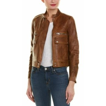 Zadig & Voltaire ザディグ&ヴォルテール ファッション 衣類 Zadig & Voltaire Love Aviator Leather Jacket
