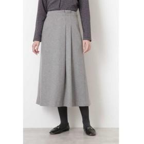 HUMAN WOMAN / ヘリンボンツィードスカート