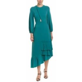 Tibi ティビ ファッション ドレス Tibi Savana Crepe Midi Dress