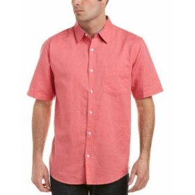Vintage 1946 ヴィンテージ1946 ファッション アウター Vintage 1946 Linen-Blend Woven Shirt S Pink