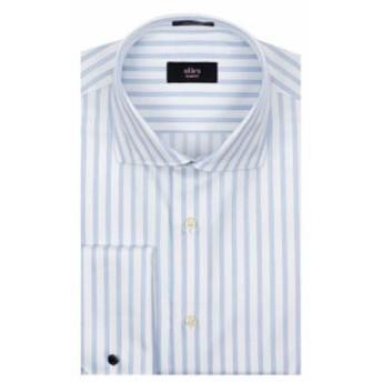 Alara  ファッション アウター Alara Slim Fit French Cuff Dress Shirt 16.5 32/33