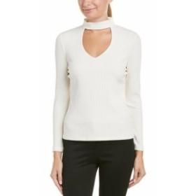 ファッション トップス Donna Degnan Top L White